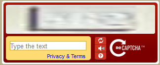 Terrible CAPTCHA